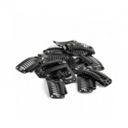 Mini Clip Negro 10u